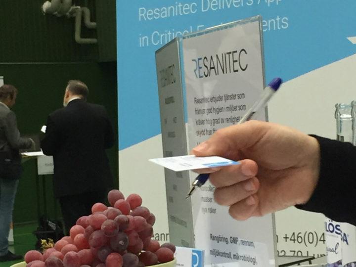 Resanitec på rekryteringsmässa för life science-branschen i Öresundsregionen